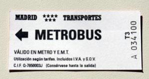 Boleto Metro