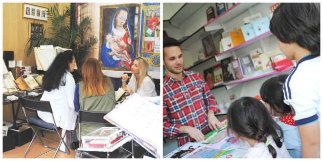 Feria del Libro Collage
