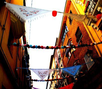 Calles adornadas