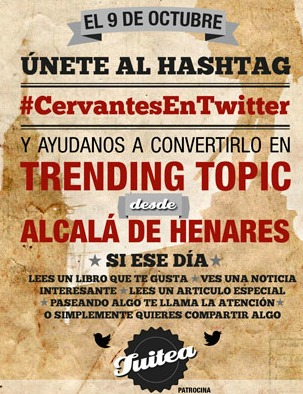 #CervantesEnTwitter