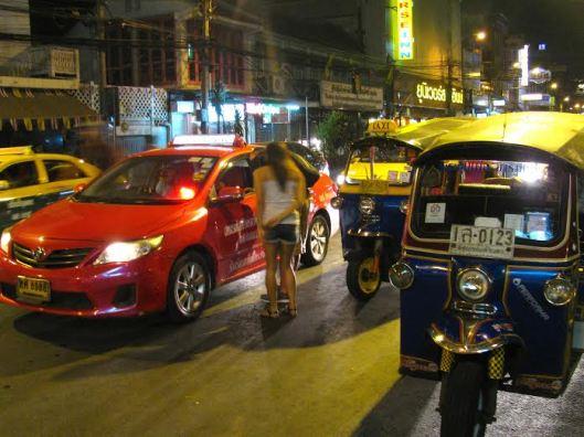El tráfico de Bangkok